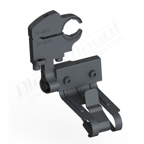 BlendMount BCB-2025 Cobra Radar Detector mount rendering