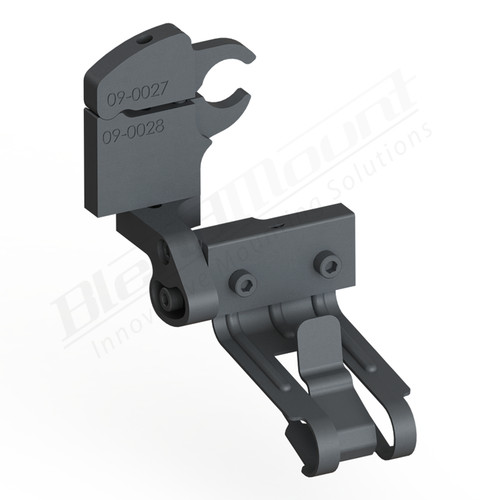 BlendMount BCB-2026 Cobra Radar Detector mount rendering
