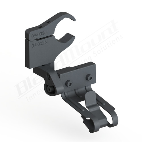 BlendMount BCB-2031 Cobra Radar Detector mount rendering