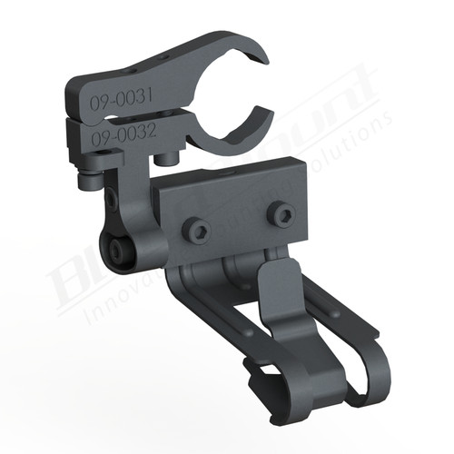 BlendMount BCB-2032 Cobra Radar Detector mount rendering