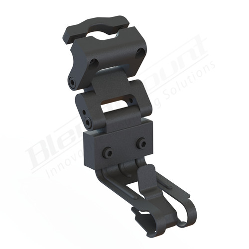 BlendMount BCB-2034 Cobra Radar Detector mount rendering