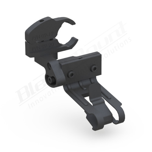 BlendMount BCB-2035 Cobra Radar Detector mount rendering