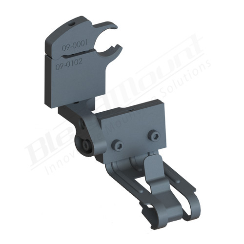 BlendMount BCB-2114 Cobra Radar Detector mount rendering
