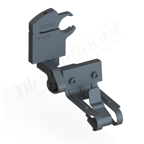 BlendMount BCB-3014 Cobra Radar Detector mount rendering