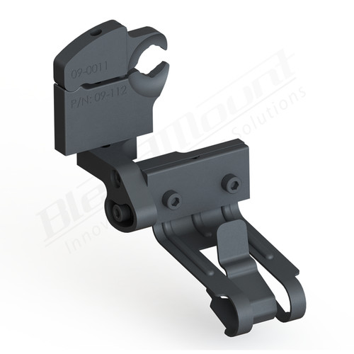 BlendMount BCB-3022 Cobra Radar Detector mount rendering