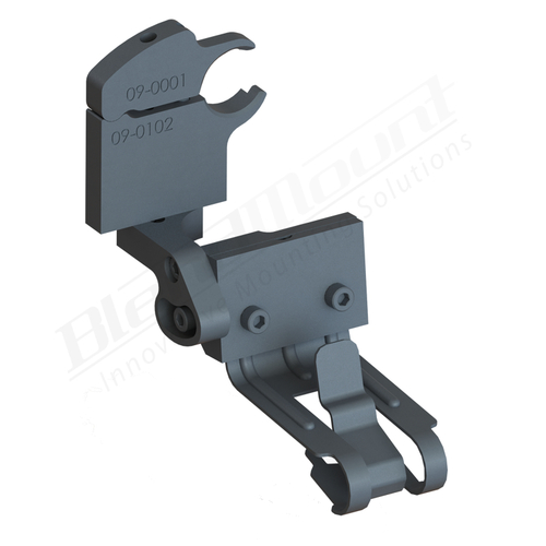 BlendMount BCB-3114 Cobra Radar Detector mount rendering