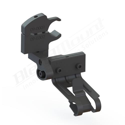 BlendMount BCB-4014 Cobra Radar Detector mount rendering