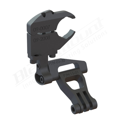 BlendMount BGP-3030 Gopro Actioncam mount rendering