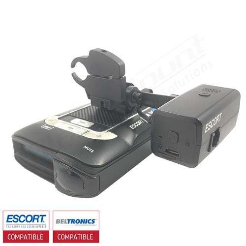 BlendMount Hardware kit for Escort M1 dashcam With Escort Max360