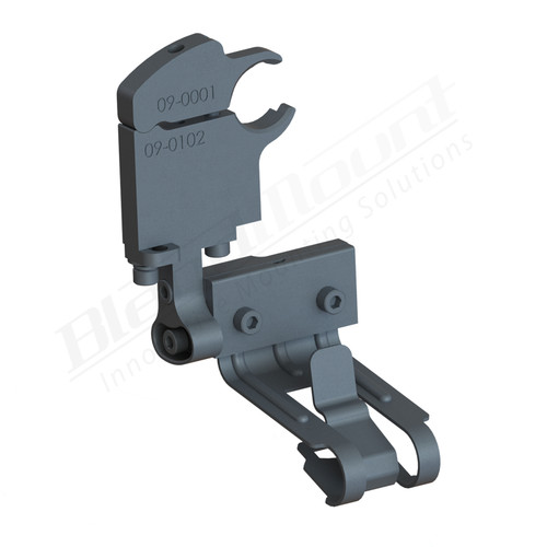 BlendMount BCB-5014 Cobra Radar Detector mount rendering