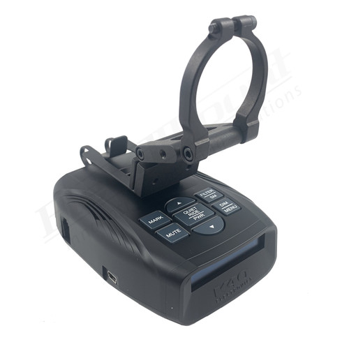 BlendMount BKR-2003R Radar Detector Mount rendering iso 1