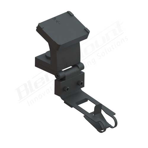 BlendMount BKR-2006 Radar Detector Mount rendering
