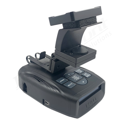 BlendMount BKR-2006 Radar Detector Mount rendering ISO 1
