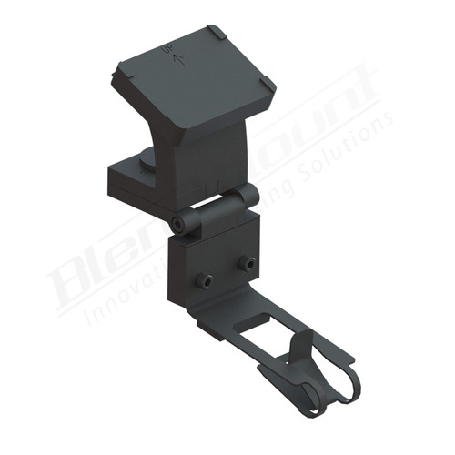 BlendMount BKR-2007 K40 Radar detector Mount rendering