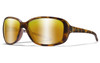 Captivate Polarized Bronze Mirror Lens/Matte Demi Frame