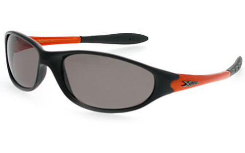 Black-Orange Frame/Smoke Polarized Lens