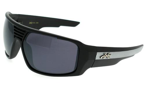 Black-Silver Frame/Smoke Lens