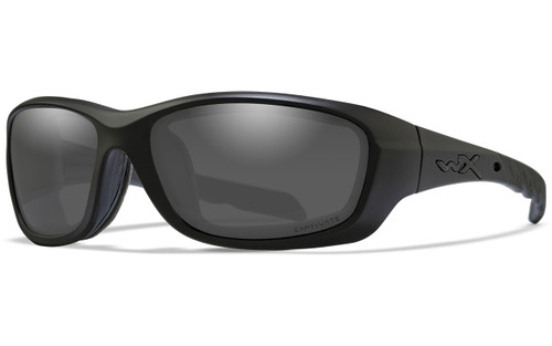 Smoke Grey Lens/Matte Black Frame