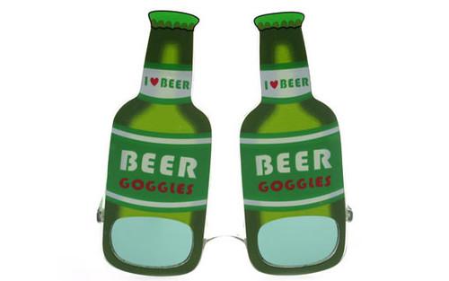 St. Patricks Day Green Beer Bottle Sunglasses FF178