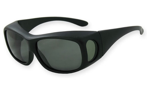 Matte Black Frame / Polarized Smoke Lens