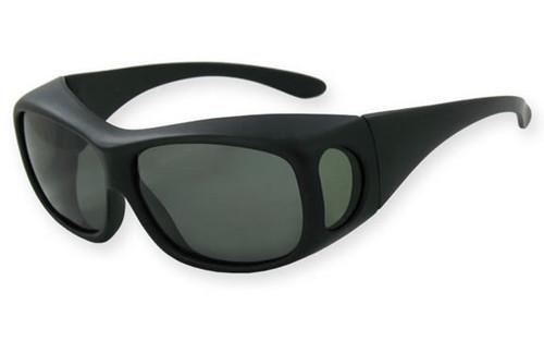 Matte Black Frame / Polarized Smoke Lens