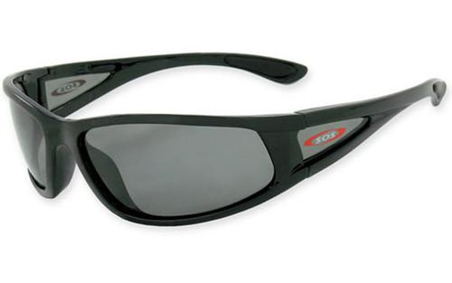 Black Frame w/Polarized Smoke Lens