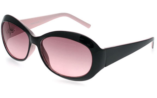 Black-Pink Frame/Rose Lens