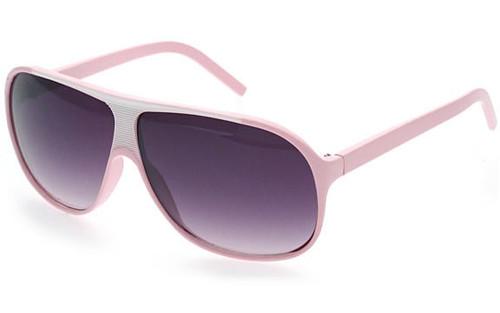 Pink Frame/Smoke Lens