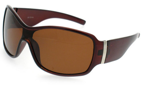 Crystal Brown Frame/Brown Polarized Lens