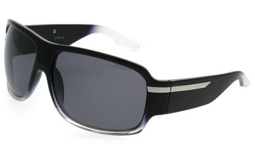 Crystal Black Frame/Smoke Polarized Lens