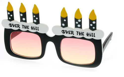 Over The Hill Birthday Sunglasses