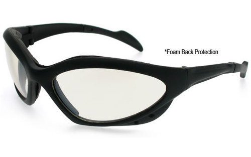 Black Frame/Clear Lens