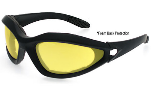 Black Frame/Yellow Lens