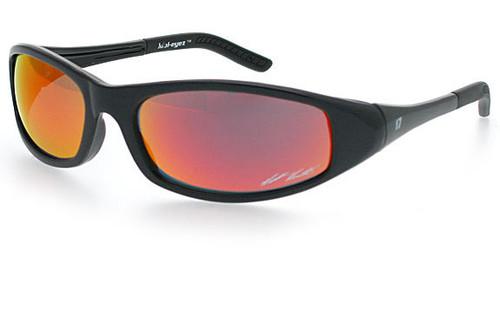 Black Frame/Orange Revo Lens