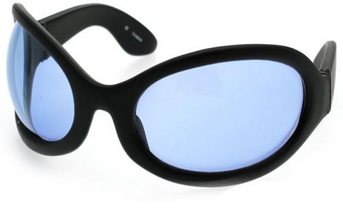 Black Frame/Blue Lens