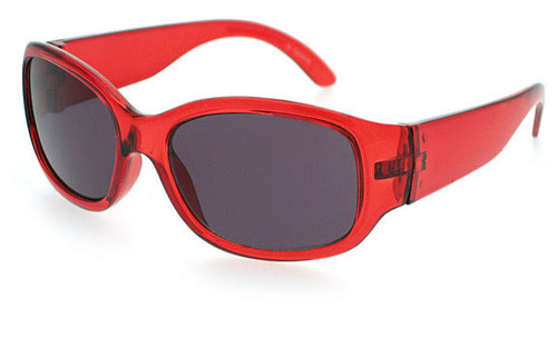 Crystal Red Frame/Smoke Lens