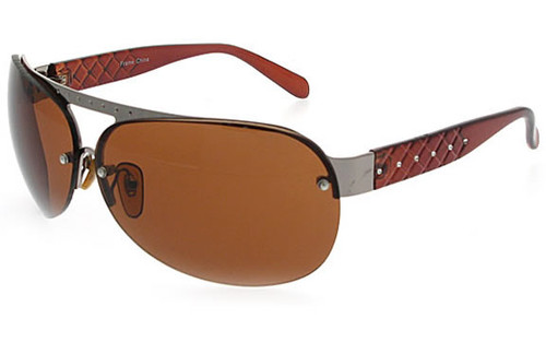 Brown Frame/Brown Lens/Gun Trim