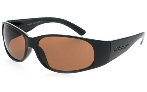 Black Frame/Brown Lens