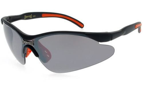 Black-Orange Frame/Smoke Lens