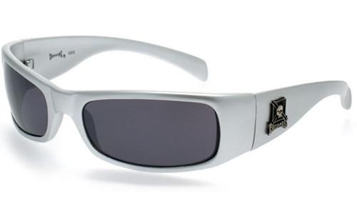 Silver Frame/Smoke Lens