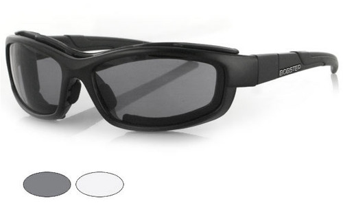 Black Frame/Smoke and Clear Interchangeable Lenses
