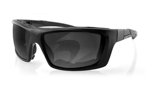 Black Frame/Polarized Smoke Lens