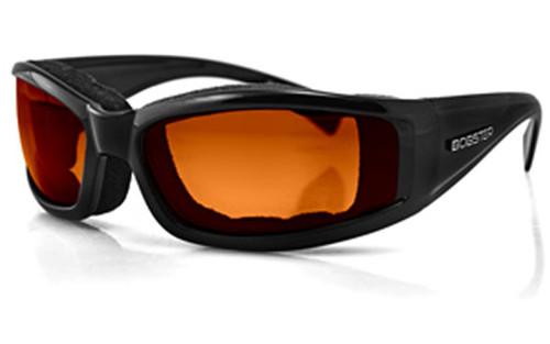 Black/Photochromic Orange Lens