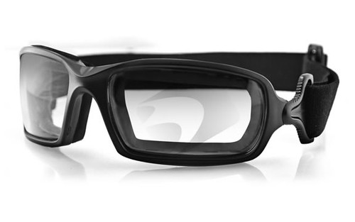 Black Frame/Clear Photochromic Lens