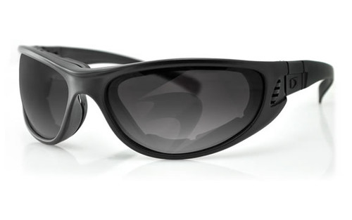 Matte Black Frame/Smoke & Clear Lenses