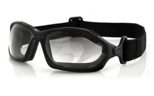 Black Frame/Clear Photochromic Lens
