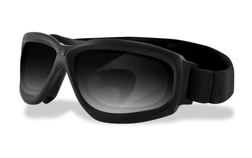 Black Frame w/ Smoke,Clear & Yellow Lenses