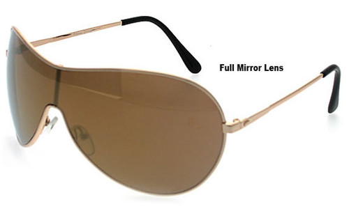 Gold Frame/Brown Lens