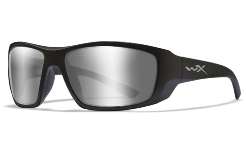 Silver Flash Lens/Matte Black Frame