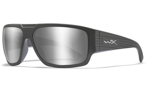 Silver Flash Lens/Matte Graphite Frame
